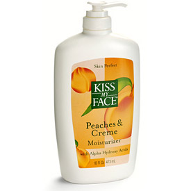 Kiss my face peaches and cream
