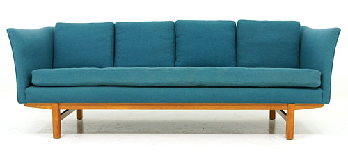 Erik Jorgensen Danish modern three seater sofa