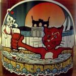 Red Cat wine label