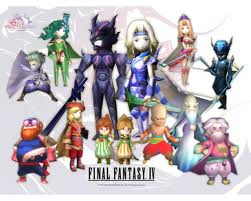 Final Fantasy 4 video game cover