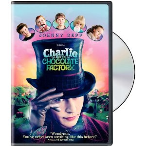 DVD Cover for movie Charlie and the Chocolate Factory