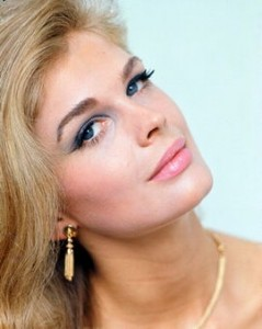 Young Candice Bergen Modeling Photo