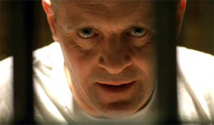 Hannibal Lecter, close up