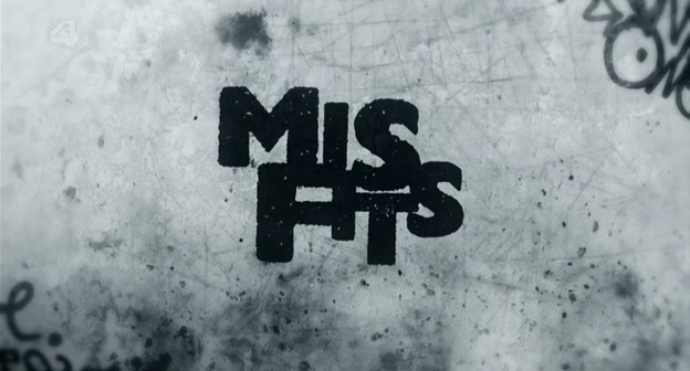 Logo for British TV show Misfits