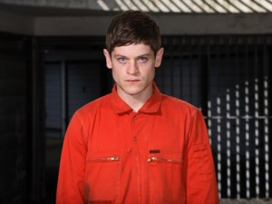 Simon Bellamy, played by Iwan Rheon on the British TV show Misfits.