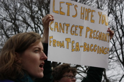 Let's hope you can't get pregnant from tea-bagging
