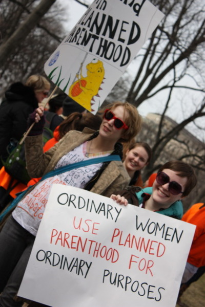 Ordinary women use Planned Parenthood for ordinary purposes
