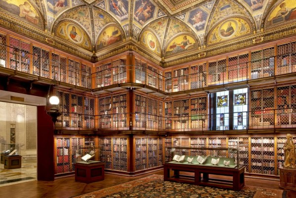 The JP Morgan Library in New York