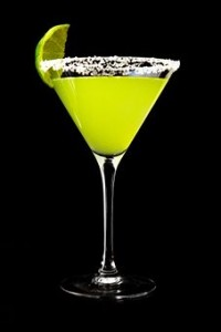 A green margarita