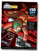think geek catalog cover
