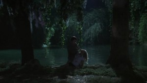 Bill and Sookie by the lake