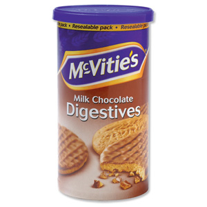 A container of McVities Digestives