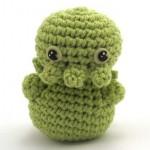 crochet mini cthulhu