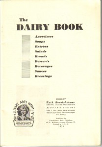 300 Healthful Dairy Dishes inside cover