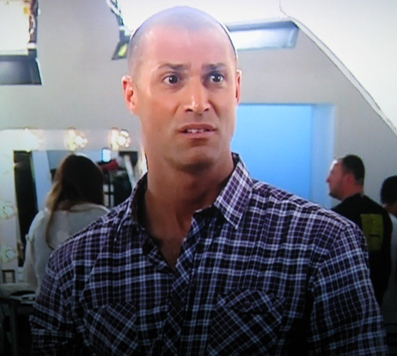 "nigel barker with hair. be passionate!"" Wow."