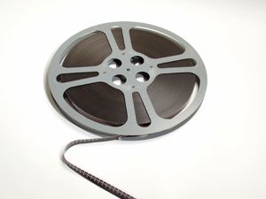 photo of a movie reel