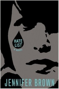 Cover Image: Hate List by Jennifer Brown
