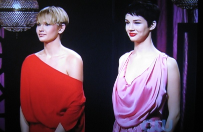 Brittani and Molly get new pixie cuts on America's Next Top Model / ANTM.