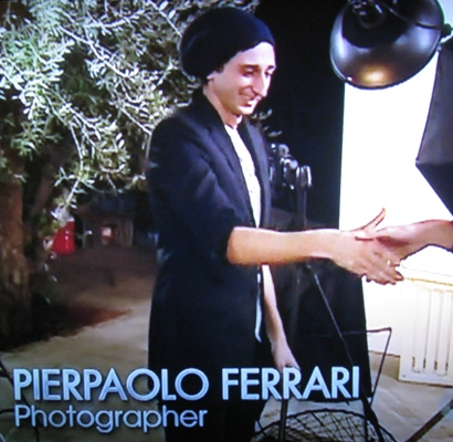 Pierpaolo Ferrari photographs Molly and Brittani on America's Next Top Model / ANTM