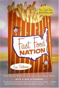 "Cover of the book ""Fast Food Nation""."