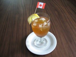 Maple Rum Cooler
