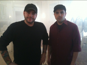 Steve and Tango from Ghost Hunters