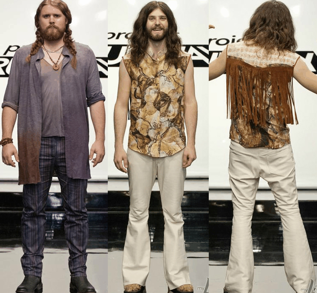 Bert & Anthony Project Runway The Sheepdogs