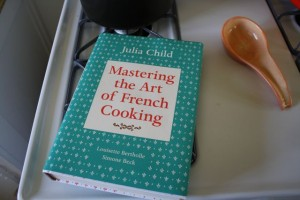 Cover of Mastering the Art of French Cooking by Julia Child