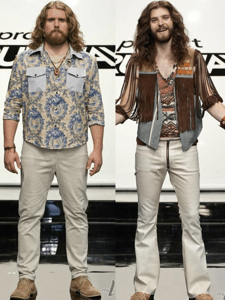 Olivier & Joshua Project Runway The Sheepdogs