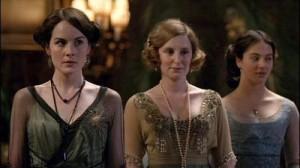 Mary, Edith and Sybil Crawley
