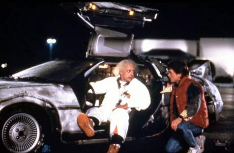 Movie still of Back To The Future