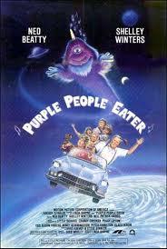 Purple People Eater movie promo poster
