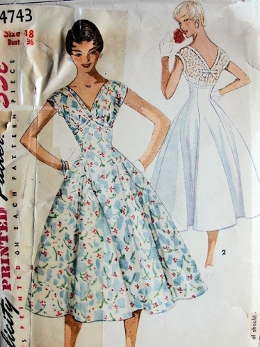 40 40s Full Skirt Persephone Magazine Custom Vintage Dress Patterns 1950s