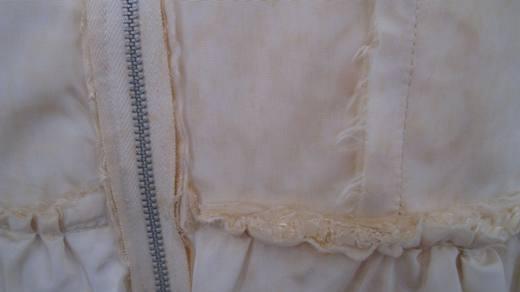 1950s vintage dress (inside).