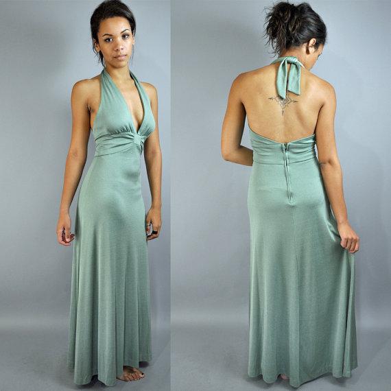 Seventies style long dresses