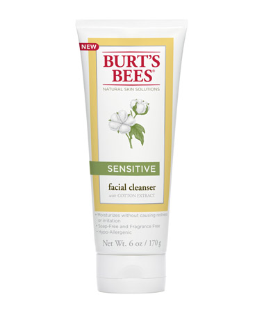 Tube of Burt's Bees Sensitive Facial Cleanser