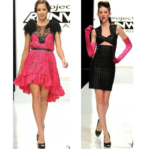 Jerell and Kara, Project Runway All Stars Episode 3