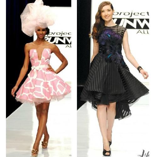 Kenley and Anthony, Project Runway All Stars Episode 3