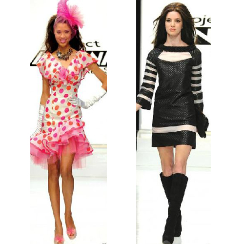 Rami and Mila, Project Runway All Stars Episode 3