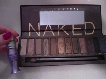 Urban Decay Naked Palette eye make-up collection.
