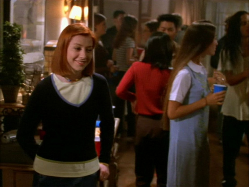 an analysis of the episode dead mans party from the series buffy the vampire slayer Includes episodes of buffy the vampire slayer television series  pages in category buffy the vampire slayer episodes  buffy the vampire slayer: dead man's party.
