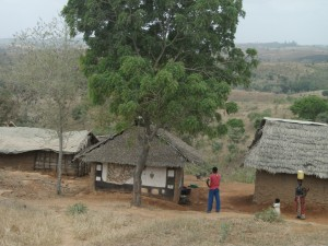 Village near Tsavo