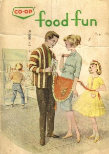 Cover of the Co-op Food Fun cookbook.