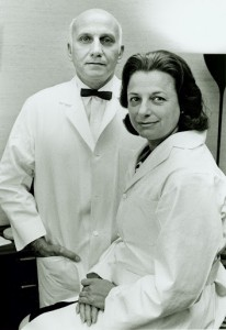 William Masters and Virginia Johnson, the partners who would revolutionize the way we viewed sex.