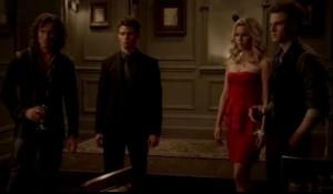 Finn, Elijah, Rebecca, and Cole
