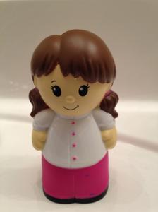 Image of figurine from Megabloks playset