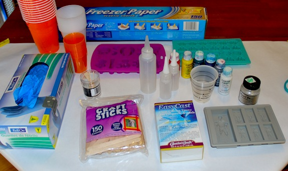 resin casting supplies