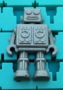 unpainted resin robot