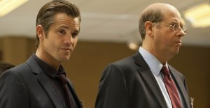 Raylan and FBI Agent Barclay