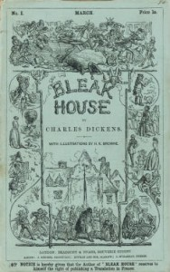 Bleak House - original serial cover